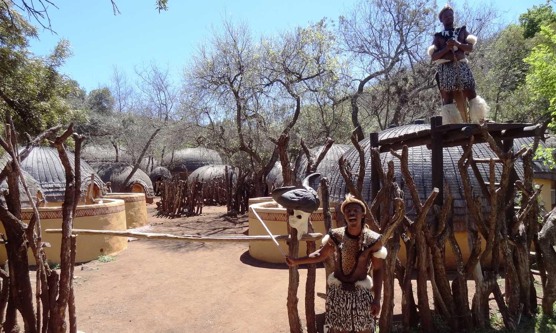 Inside Lesedi Cultural Village